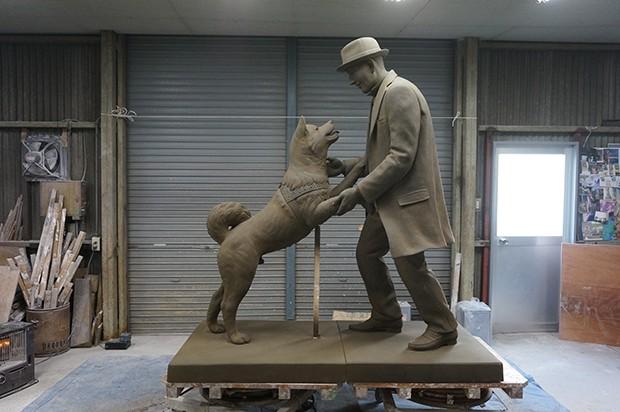 actualidad animales historia japon sociedad tokyo  Hachiko se reune finalmente con su dueño