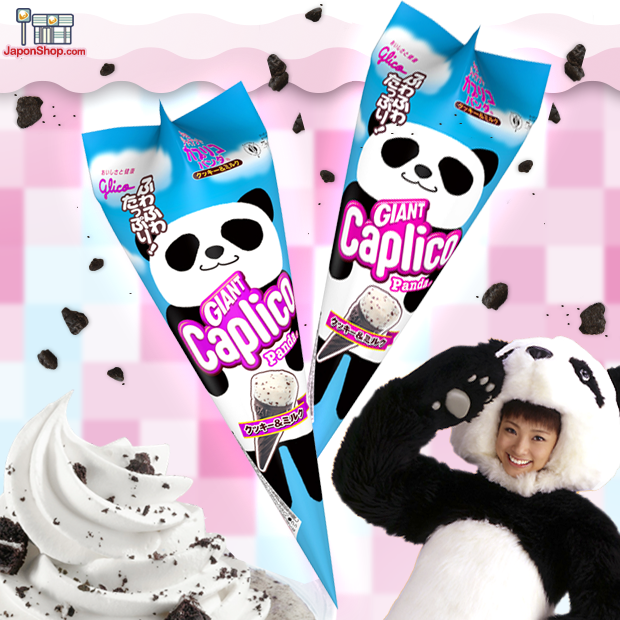 Combini Lovers japon japonshop  Combini Lovers Review: Snack Ice Cream Panda Cookies | Giant Caplico