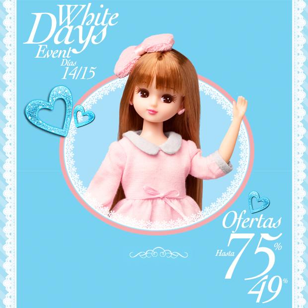 """Este finde hasta el 75% de DTO en JaponShop.com en el """"White Days Event""""! GO!"""