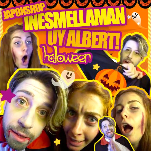 UY Albert! e Inesmellaman en un Especial Halloween con JaponShop! Dentro Vídeo!