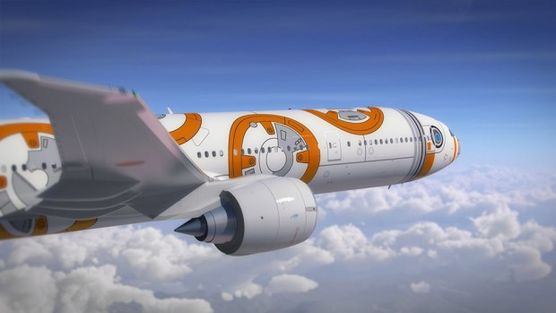 """actualidad japon noticias  La """"fuerza"""" te acompañará en tus viajes en los Trenes y aviones de star wars"""