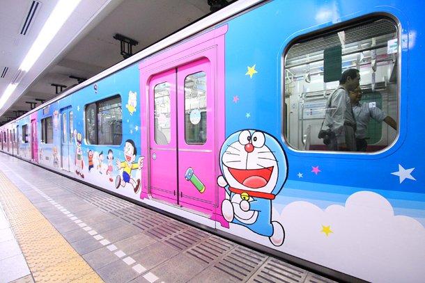 Los trenes Doraemon