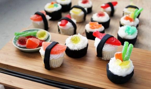 El sushi más creativo..(Y raruno)!
