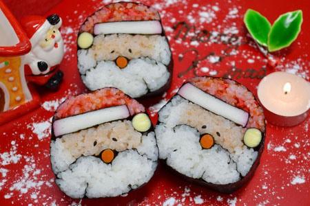 Santa sushi Claus!