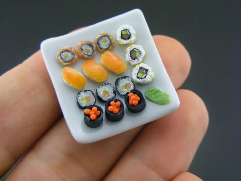 La comida en miniatura triunfa en You tube Japón.