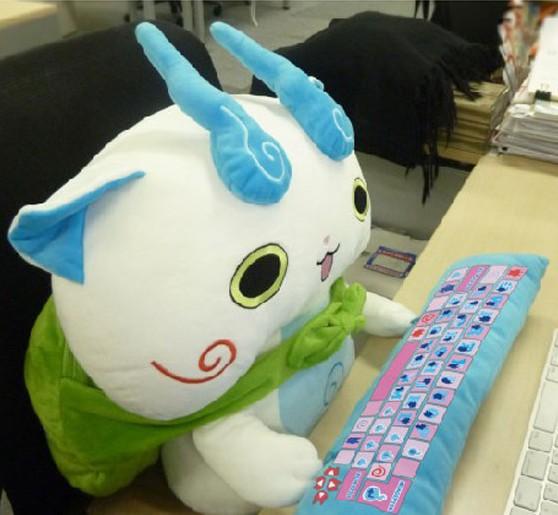animales japon kawaii  Peluches para el ordenador!