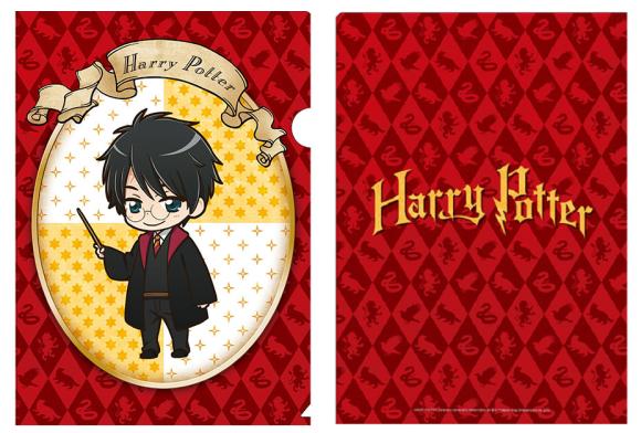 Harry Potter al más puro estilo manga!