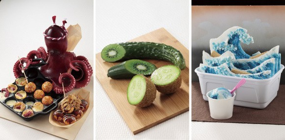 Las creaciones culinarias más sorprendentes que no se pueden comer