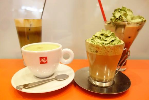 Visto en Japón! café con té verde