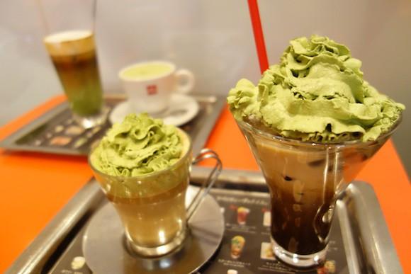 actualidad Combini Lovers comida curiosidades j-pop japon japonshop kawaii  Visto en Japón! café con té verde