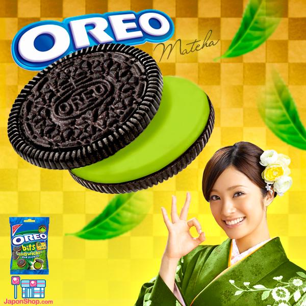 Combini Lovers comida japonshop negocios noticias  Nuevas Oreos de Crema de Té Verde Matcha.!!