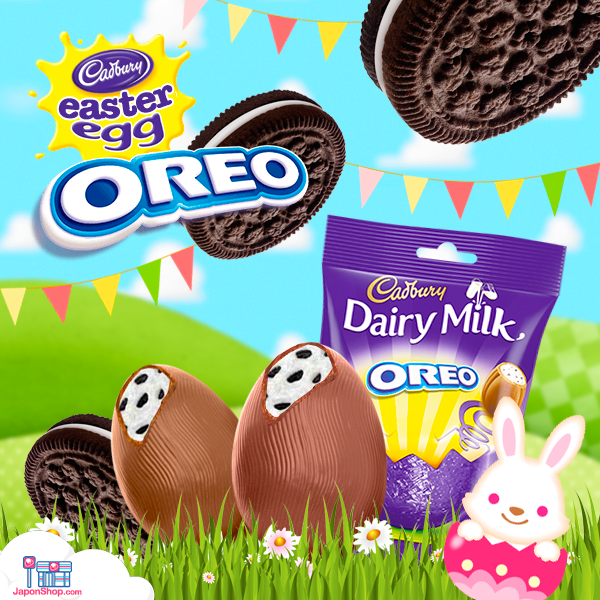 Novedad! Mini Huevos de Chocolate y Oreo | Cadbury