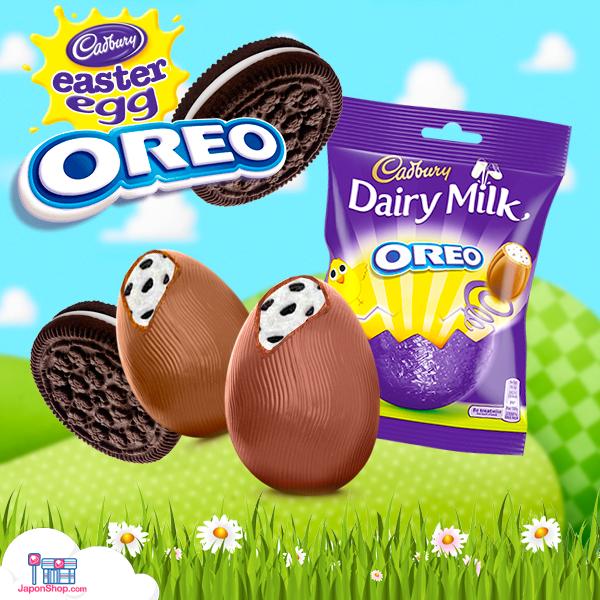 Combini Lovers comida japonshop  Novedad! Mini Huevos de Chocolate y Oreo   Cadbury