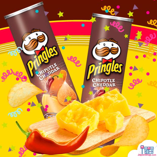 ¡OFERTA 20% DTO! Pringles Genuine Chipotle & Cheddar!