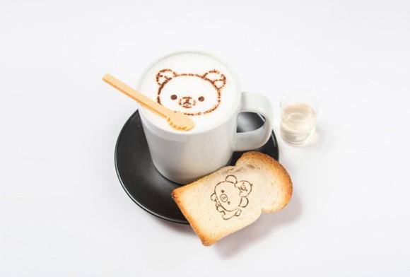 actualidad comida japon tokyo  La cafetería de Rilakkuma