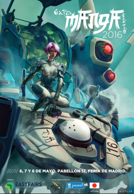 actualidad manga publicidad  Expomanga 2016, plagado de novedades en su estreno en IFEMA!