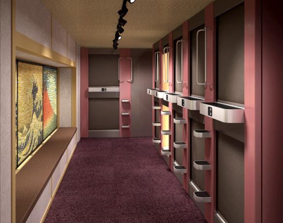 actualidad Combini Lovers curiosidades negocios sociedad  Hotel capsula en Shibuya solo para mujeres