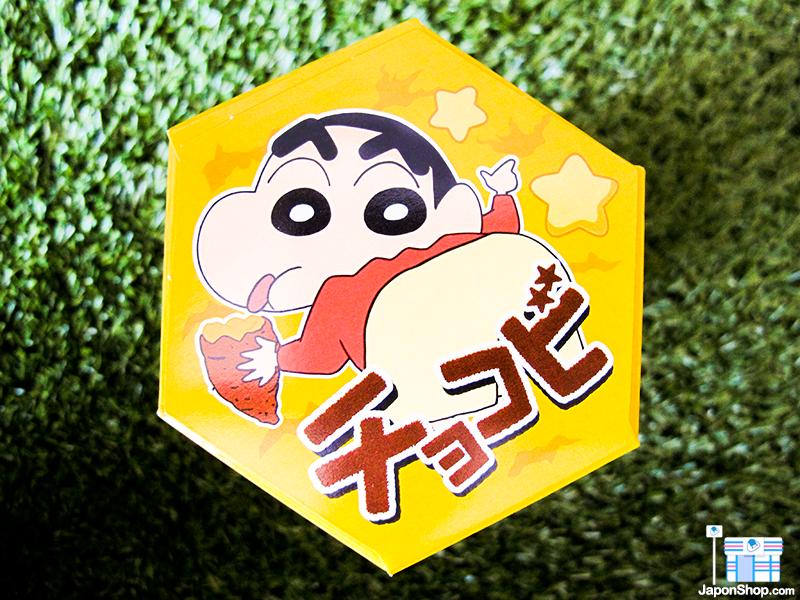 Combini Lovers comida japonshop kawaii manga  NOVEDAD! Galletas Snack Chocobi Shin Chan | Sabor Boniato Asado