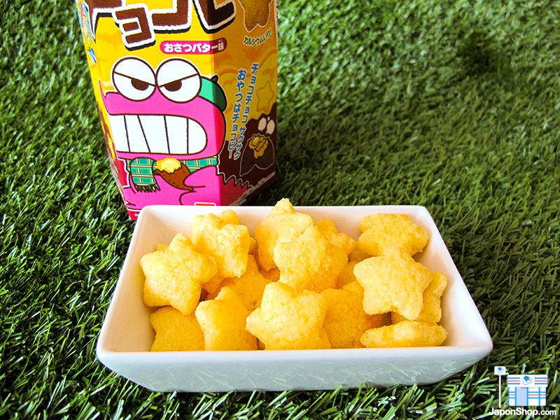 NOVEDAD! Galletas Snack Chocobi Shin Chan | Sabor Boniato Asado