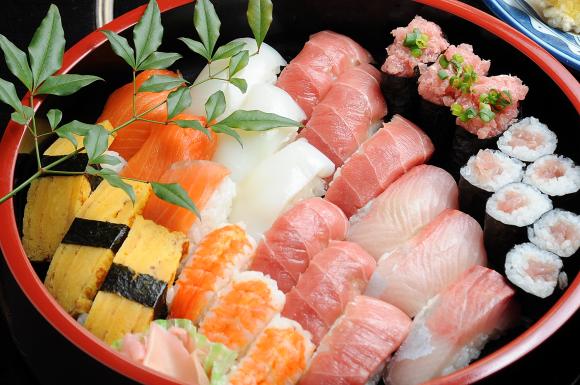 Siete razones por las que comer sushi