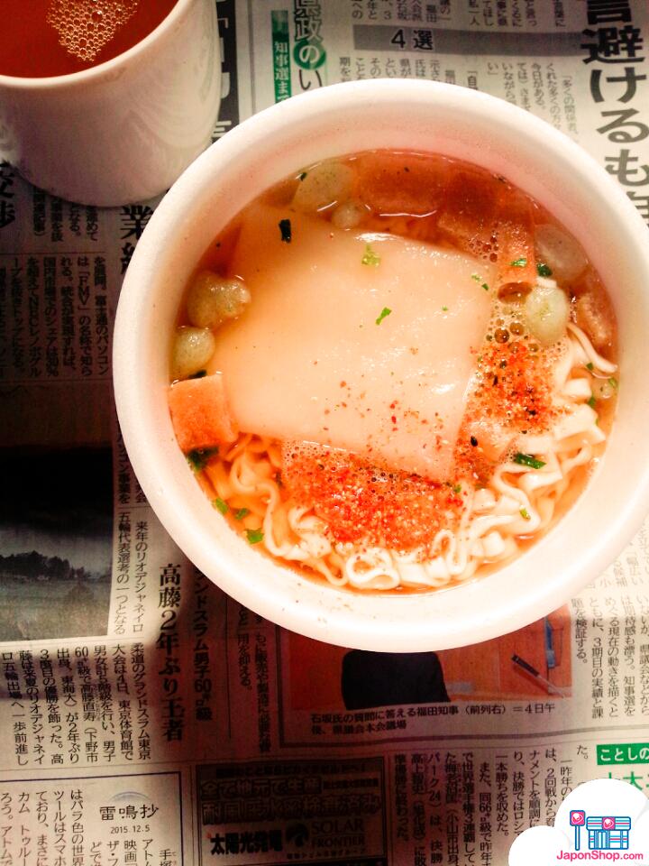 Ahora en JaponShop! Fideos Udon Kitsune con Mochi!
