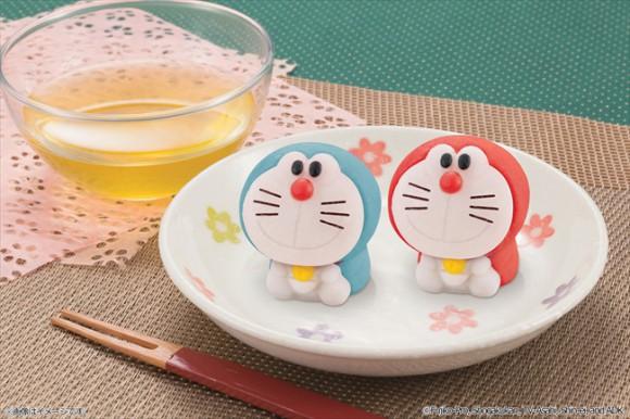 Nuevos dulces japoneses de doraemon