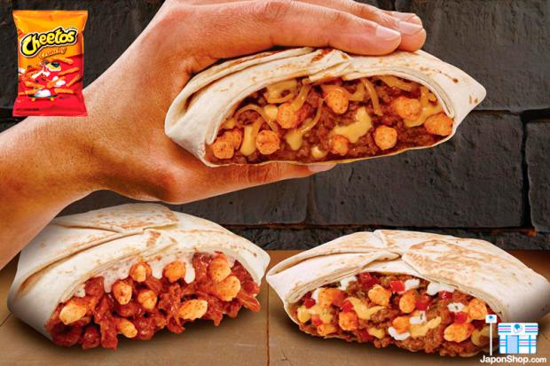 Combini Lovers comida j-pop japon japonshop recetas  Receta Burrito Wrap de Cheetos Crunchy con Queso | Sabor Original