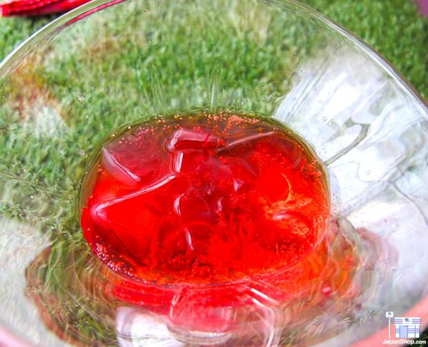 comida japon japonshop recetas refrescos japoneses  Receta! Copa Helada con Fanta de Fresa