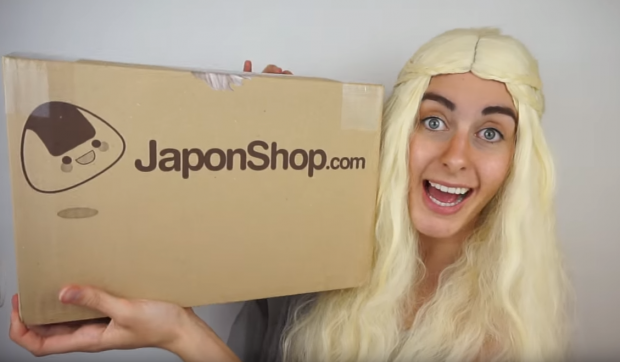 "Combini Lovers comida japon japonshop kawaii  ""Inesmellaman"" como ""Daenerys"" prueba dulces de JaponShop.com! GO Vídeo!"