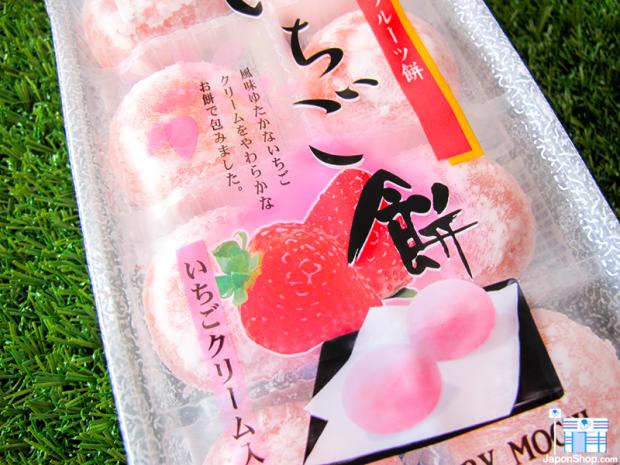 Combini Lovers comida j-pop japon japonshop  Nuevos Mochis de Crema y Mermelada de Fresa | Edición Grand Sakura