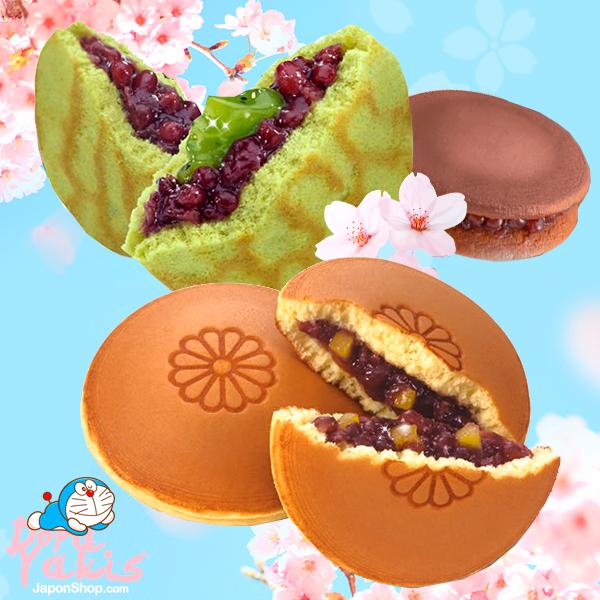 Nuevos Dorayakis de Chocolate, Matcha, Castañas y Azuki