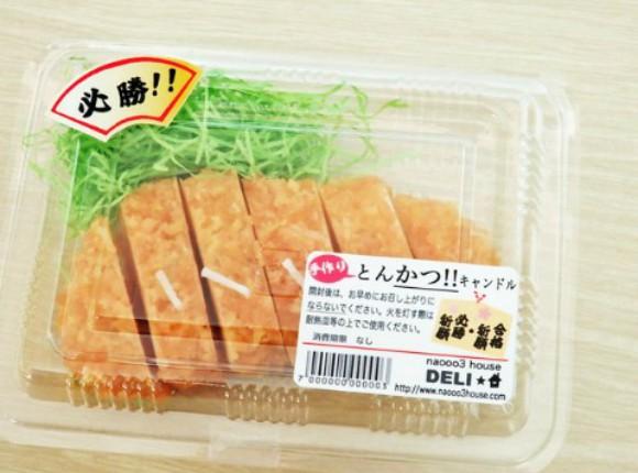 Combini Lovers comida curiosidades japon  Visto en Japón: velas con forma de comida
