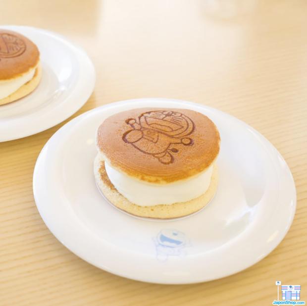 comida japonshop noticias recetas  Disfruta de nuestros Dorayakis fríos y rellenos de helado!