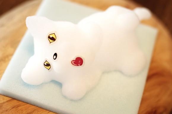 Visto en Japón! Animales de Espuma de jabón