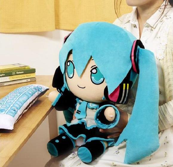 actualidad curiosidades japon kawaii manga  El peluche especial para ordenador de Hatsune Miku