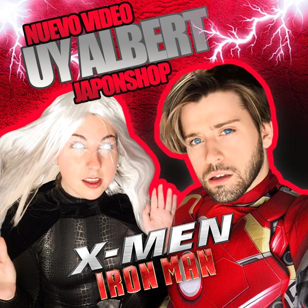 actualidad Go Japan Vídeos! japonshop  UY! Albert regresa con JaponShop como IRON-MAN y sin Laura! Go Vídeo!