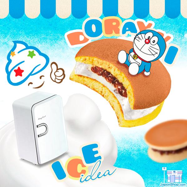 Disfruta de nuestros Dorayakis fríos y rellenos de helado!