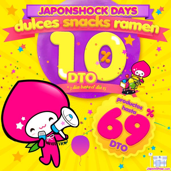 "Llegan a JaponShop.com las Ofertas ""JAPONSHOCK DAYS"""