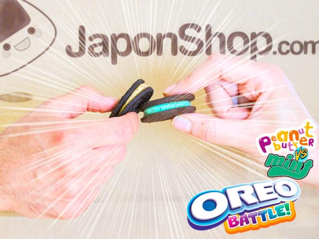 actualidad comida japon japonshop tokyo  Descuento del 30% en Oreo Menta y las Oreo de Crema de Cacahuete.