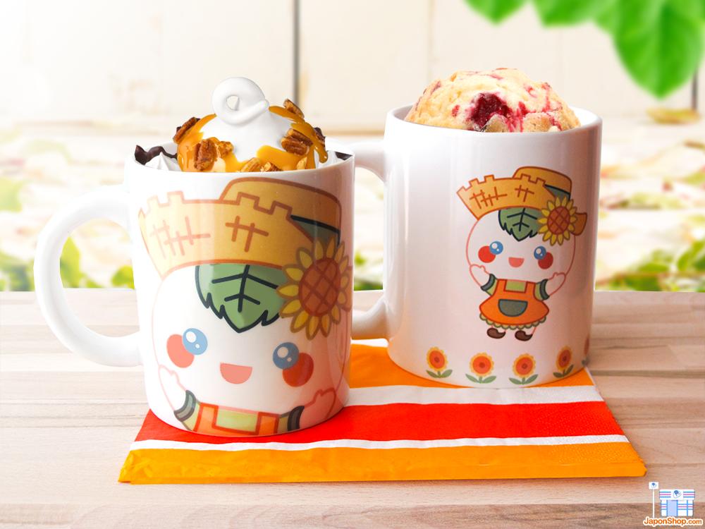 Os presentamos las nuevas y divertidas Mugs oficiales de Onigiri Kun y Mochi San, FARM!