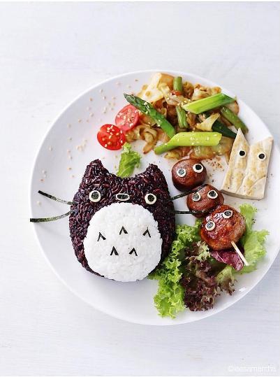 Arte Kawaii en la comida!!