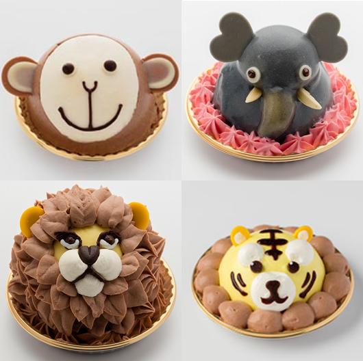 Visto en Japón tartas de animales Kawaiis!!