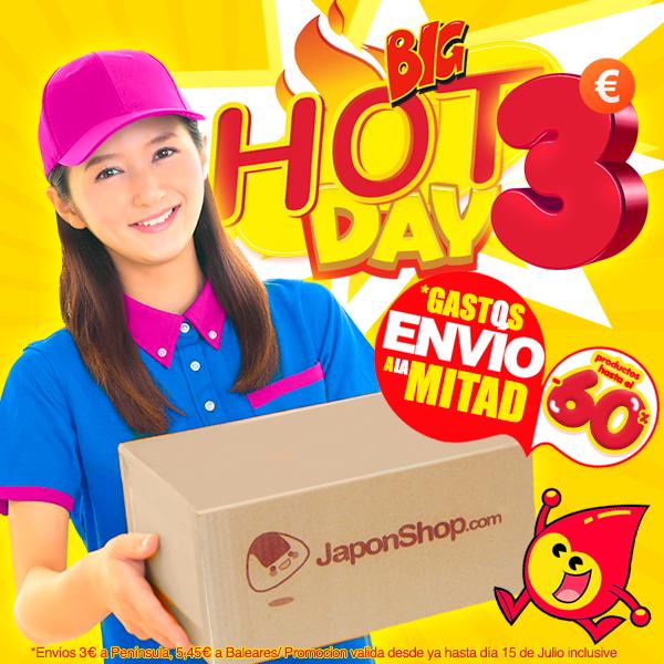 ACTUALIZACIÓN: Ampliamos el HOT DAY en JaponShop.com hasta el 15 de Julio! *Envíos solo a 3 €!