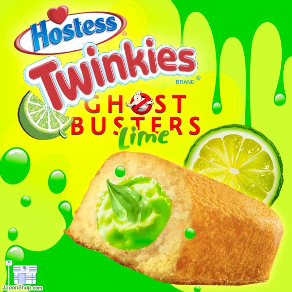 NUEVOS Twinkies Edición limitada Ghostbusters