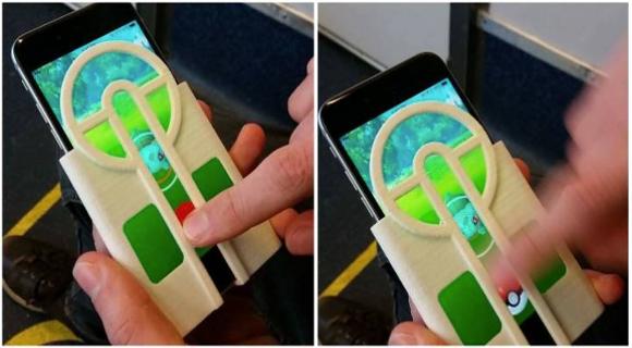 Increíble invento para jugar el Pokemón Go