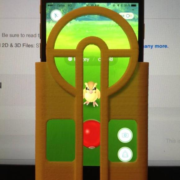 actualidad curiosidades internet kawaii  Increíble invento para jugar el Pokemón Go
