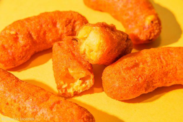 comida curiosidades  Los nuevos Mac 'n Cheetos de Burguer king