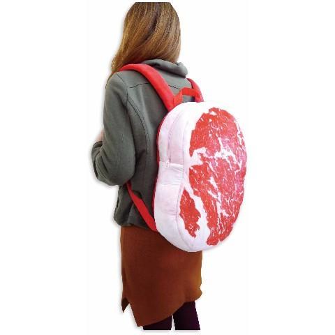 comida curiosidades japon  Visto en Japón! mochilas de carne a la parrilla