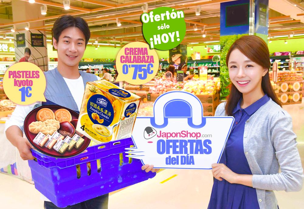 OFERTÓN SOLO HOY! Pasteles de Kyoto a 1 € y Crema de calabaza a 0,75 €! GO!