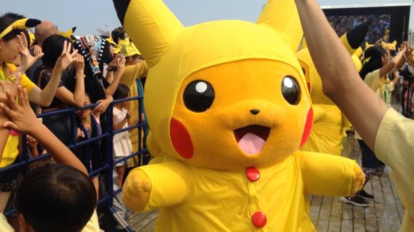 Pikachus en Yokohama